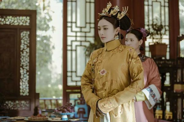 Tần Lam đóng vai Phú Sát hoàng hậu người gặp người yêu trong phim.