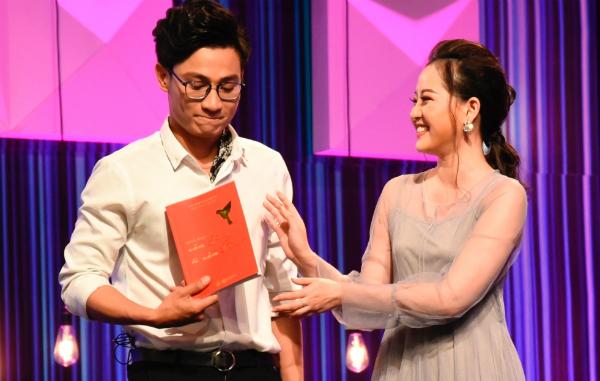 Minh Ngọc - Hữu Nghị tại show hẹn hò.