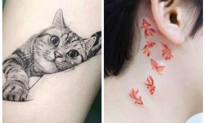 Nếu là người yêu động vật, bạn chắc chắn sẽ 'mê mẩn' những hình xăm này