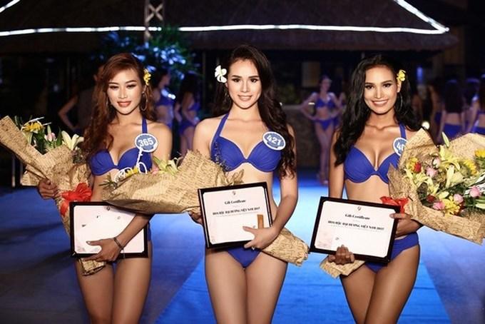 """<p> Trước thành tích tốt tại Hoa hậu Đại dương, cô từng thi """"Nữ hoàng Trang sức Việt Nam 2015"""" và giành được vị trí Á hậu 2.</p>"""