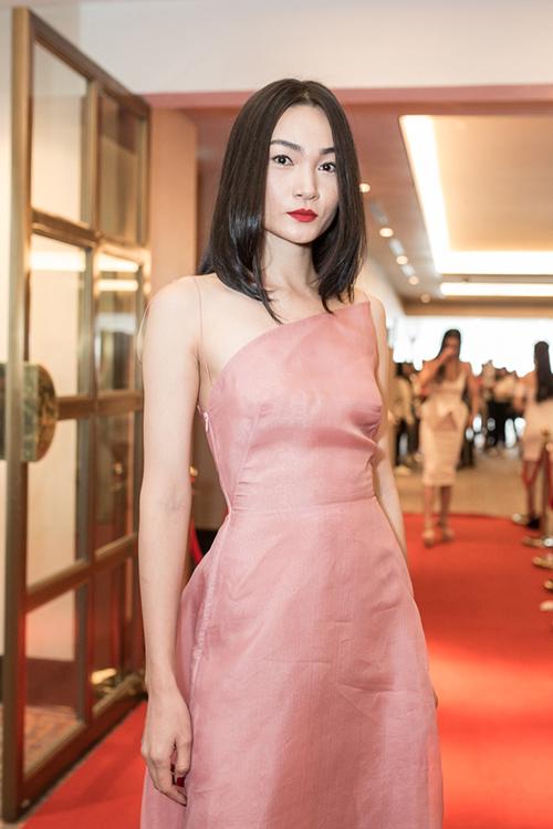 Người mẫu Thùy Trang Next Top Model.