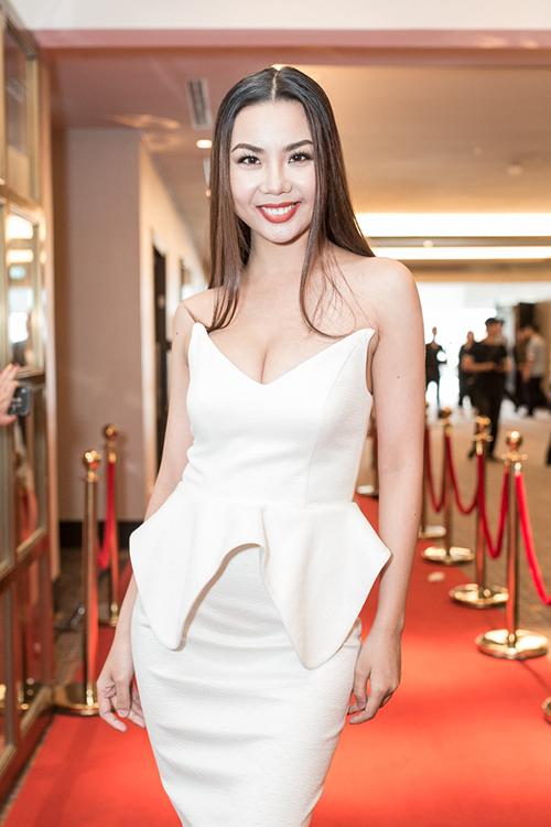 Người mẫu Lại Thanh Hương.