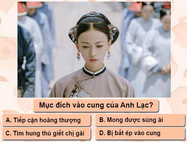 Quiz: Mọt phim liệu nhớ hết tình tiết phim Diên Hy công lược (1)