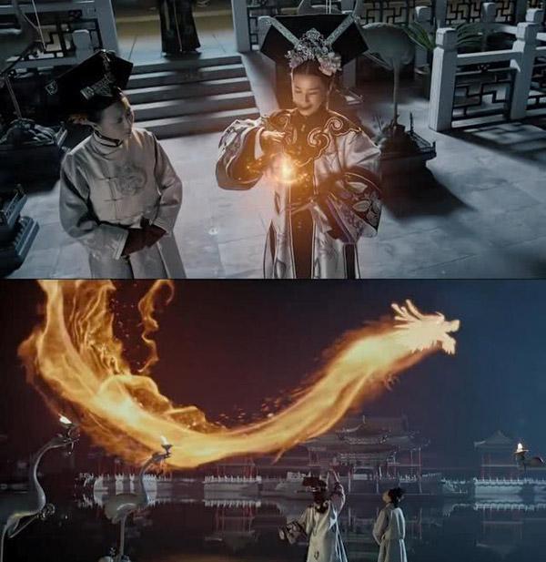 Không hiểu đang yên đang lành lại đi biểu diễn hóa phép ra rồng làm gì?