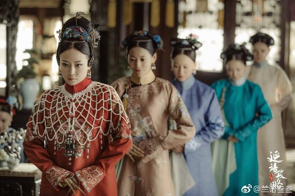 Trang phục của Cao Quý phi nổi bật nhất hàng ngũ phi tần hậu cung của vua Càn Long.