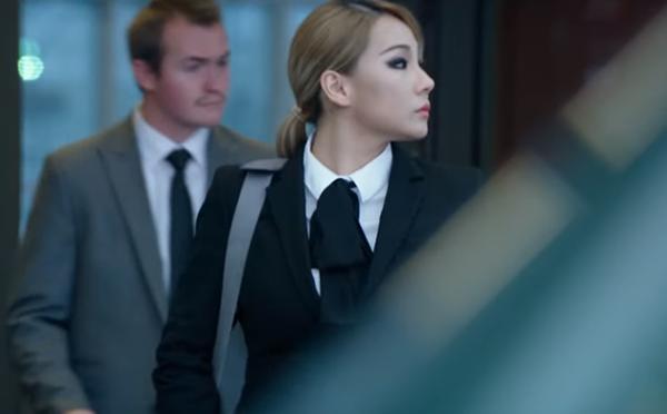 Hình ảnh vai diễn đầu tay của CL.