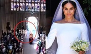 Vị khách nữ bí ẩn trao hoa cưới cho Meghan là ai?