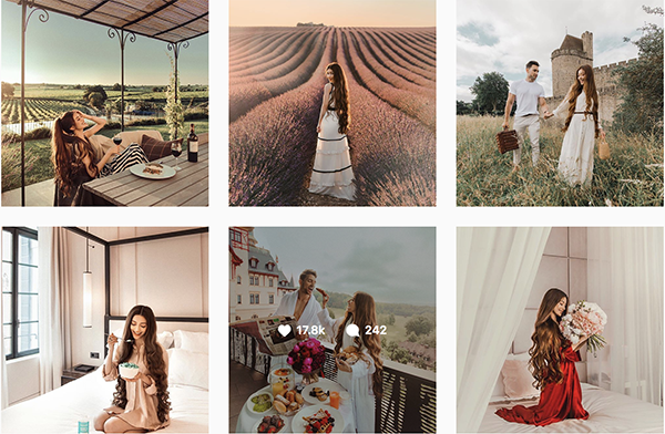 Ảnh du lịch đẹp miễn bàn của công chúa tóc mây trên Instagram.
