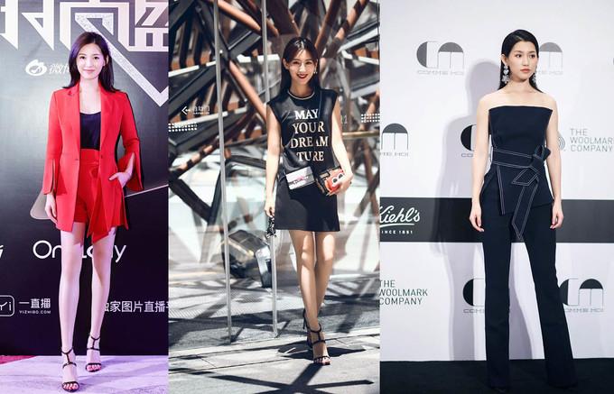 """<p> Tô Thanh luôn xuất hiện với phong cách thời trang năng động, khỏe khoắn, trẻ trung. Trên thảm đỏ, cô nàng rất biết cách để tỏa sáng với những style khoe triệt để chân dài và vòng eo """"con kiến"""".</p>"""