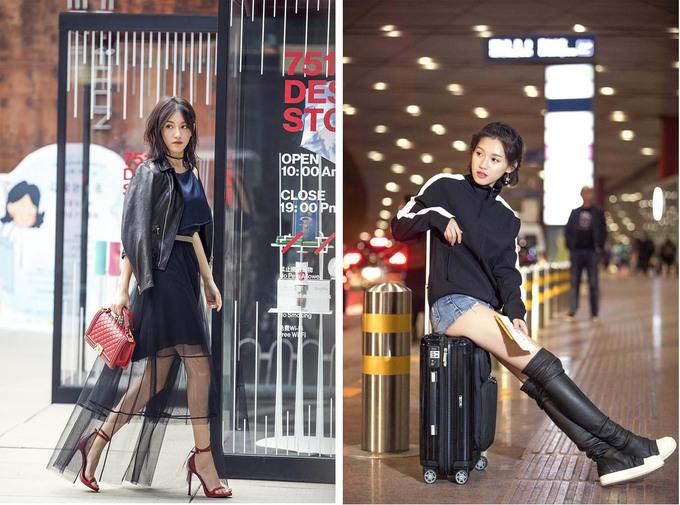 """<p> Những bức ảnh street style của """"Nhĩ Tình"""" khiến nhiều người trầm trồ. Vóc dáng đẹp giúp Tô Thanh chinh phục nhiều kiểu đồ.</p>"""