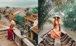 Những bức ảnh sống ảo lung linh của 'công chúa tóc mây' tại Việt Nam