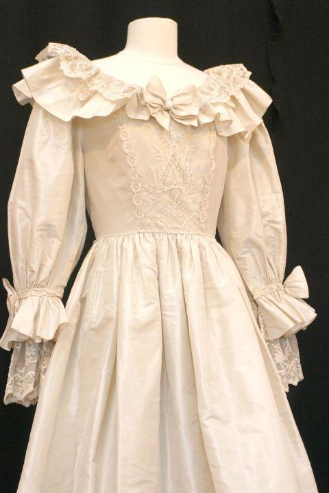 Chiếc váy cưới dự phòng của Diana.
