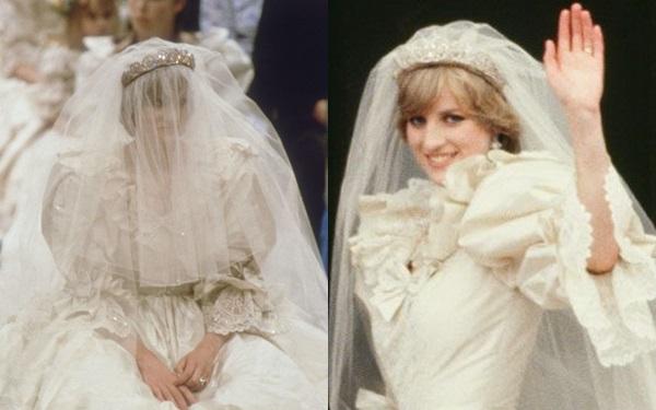Lần đầu hé lộ chi tiết về chiếc váy cưới dự phòng bí mật của Diana - 2