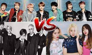 5 nhóm nhạc đồng niên, từng cho BTS 'hít khói' giờ ra sao?
