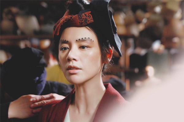 Hoa đán mới nổi của màn ảnh Trung Quốc.