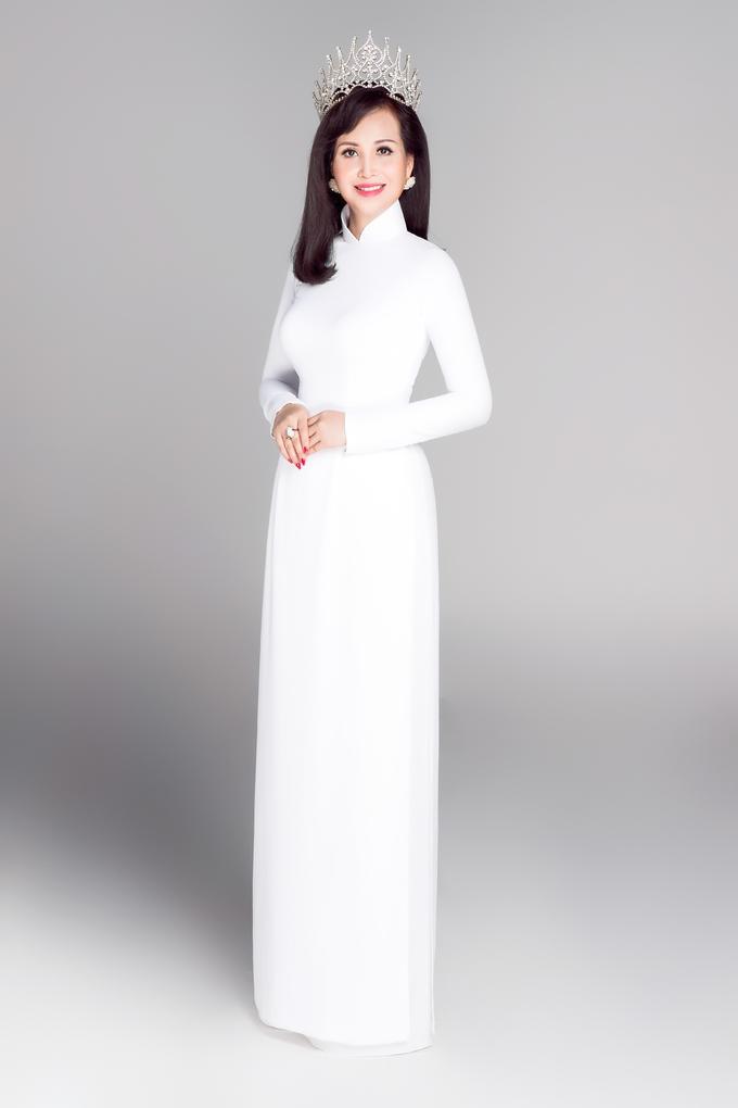 <p> Hoa hậu Diệu Hoa đăng quang năm 1990.</p>