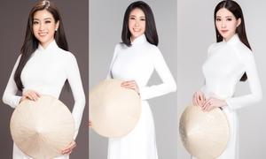 Hoa hậu Việt Nam qua các thời kỳ đẹp tinh khôi với áo dài