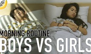 Thói quen buổi sáng của con trai và con gái có gì khác nhau?