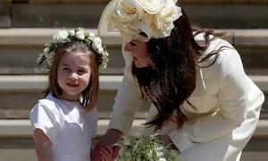 Thời điểm nào Charlotte mới trở thành 'Đại công chúa' của nước Anh?
