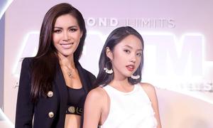 Rima Thanh Vy tự tin đọ sắc vóc cạnh Minh Tú tại Thái Lan