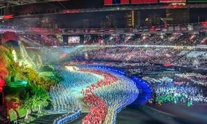 Những con số ấn tượng trong Lễ khai mạc Asiad 2018