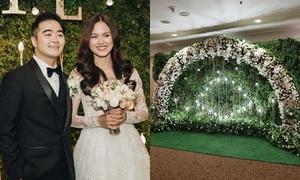 Không gian lung linh như cổ tích tại đám cưới Tuyết Lan