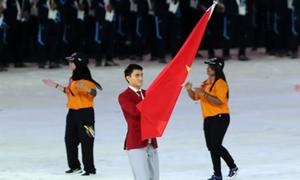 Trai đẹp cầm cờ cho đoàn Việt Nam tại lễ khai mạc Asiad được truy tìm