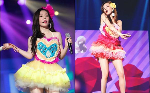 Stylist từng bị ném đá vì để Red Velvet mặc những bộ váy dễ lộ hàng trên sân khấu.