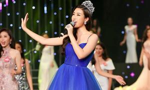 Hoa hậu Mỹ Linh, Nguyễn Thị Huyền lần đầu khoe giọng hát ngọt ngào