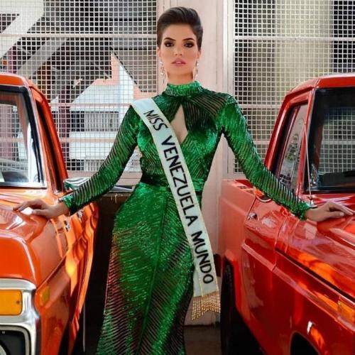 Veruska từngđược nhiều người kỳ vọng sẽ làm nên chuyện lại Miss World 2018.