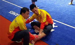 Ngày đầu ra quân tại Asiad, 2 VĐV Việt Nam gặp chấn thương, sự cố khi thi đấu