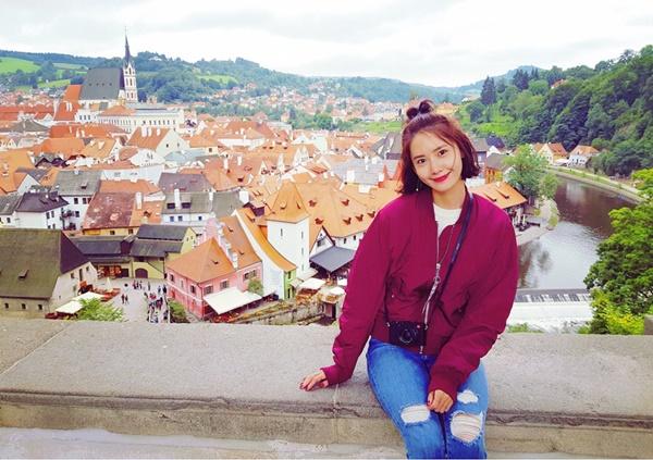 Yoon Ah chia sẻ ảnh đẹp trong chuyến du lịch Áo.
