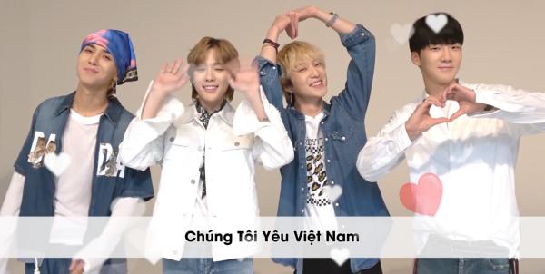 Winner dễ cưng tạo biểu tượng Chúng tôi yêu Việt Nam