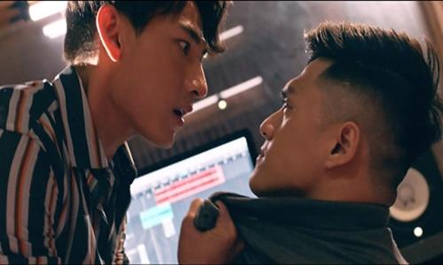 Cảnh Isaac nổi nóng suýt đánh người trong phim.