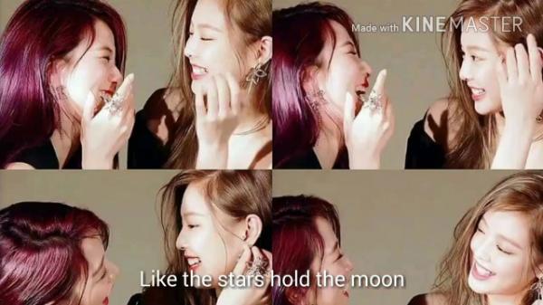 Những khoảnh khắc tình bể bình của Ji Soo và Jennie.