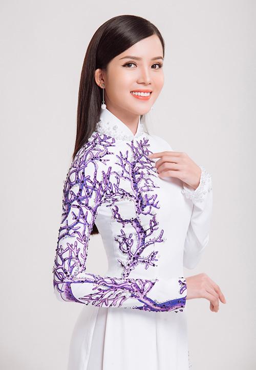Hoa khôi Huỳnh Thúy Vi đại diện Việt Nam thi Hoa hậu châu Á - Thái Bình Dương - 2