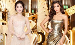 Dàn sao khoe sắc trên thảm đỏ Hoa hậu Siêu quốc gia Việt Nam 2018
