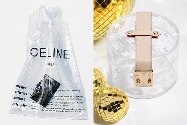 Những kiểu túi với kiểu dáng độc đáo, lạ mắt hơn như túi chất liệu PVC của Celine giá khoảng 14 triệu đồng hay túiLIMITED PREMIUM HOME DECOR BOX SCOTT