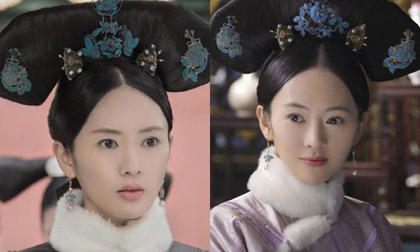 Vẻ ngoài điềm đạm, đáng yêu của Đồng Dao khi đóng Cao quý phi.