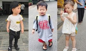 Style đáng yêu 'hết nấc' của 3 nhóc tỳ nhà sao Việt