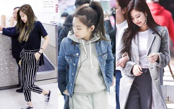 Từ khi debut, Jennie (Black Pink) đã nổi tiếng là một fashionista thế hệ mới của Kpop. Gout thời trang của cô nàng luôn có sức hấp dẫn mạnh mẽ tới người hâm mộ.