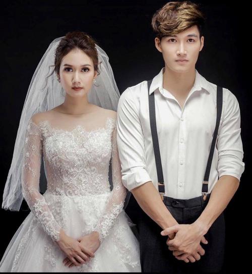Đình Tú và bạn gái Hương Giang.