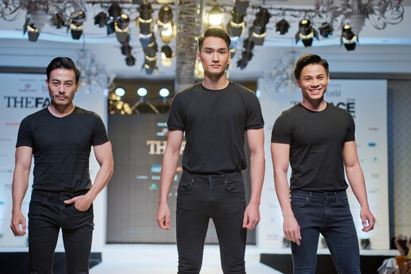 Các thí sinh đồng loạt diện đồ đen trơn đơn giản để tôn vóc dáng. Cả 36 gương mặt đều được đánh giá là trai xinh, gái đẹp nhiều tiềm năng.