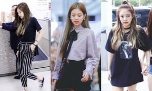 Style đời thường chất lừ của Jennie (Black Pink)