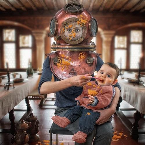 15 bức ảnh đầy tính nghệ thuật của một ông bố 3 con cuồng chụp ảnh - 13