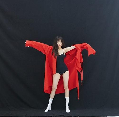 Hyun Ah chụp hình tạp chí với phong cách sexy đã thành thương hiệu.