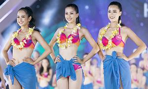 Top 3 'Người đẹp biển' của Hoa hậu Việt Nam 2018 diễn bikini bốc lửa