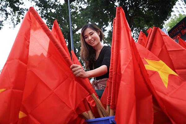 Không khí tưng bừng cổ vũ Olympic Việt Nam trước giờ G - 6