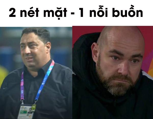 Tình cảnh của huấn luyện viên Syria được so sánh với huấn luyện viên Qatar tại giải U23 châu Á đầu năm nay.