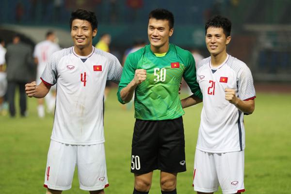 Những người hùng thầm lặng của tuyển Việt Nam trong trận đấu này.